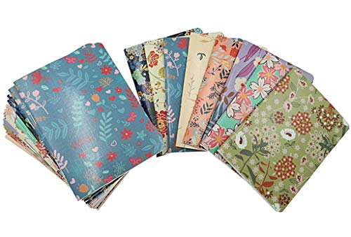 - 24pcs Mini Notebook,Floral Patterns Portable Pocket Journal Steno Memo Notebook MiniDaily NotePad(8 Patterns,Ruled Pages)