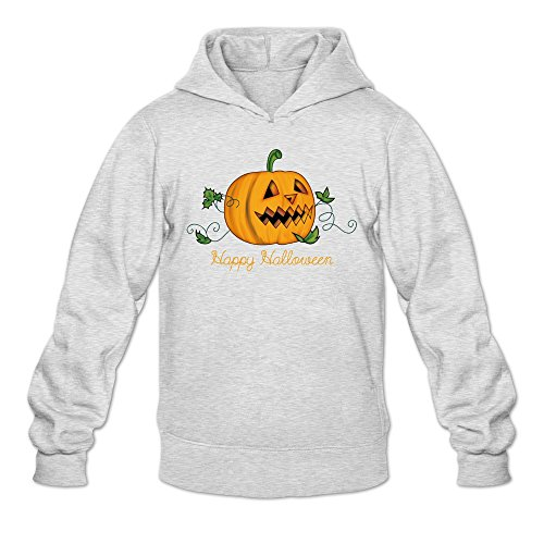 The Sims 3 Halloween (Men's Cute Leaves Happy Ghost Pumpkin Halloween Sweatshirts)