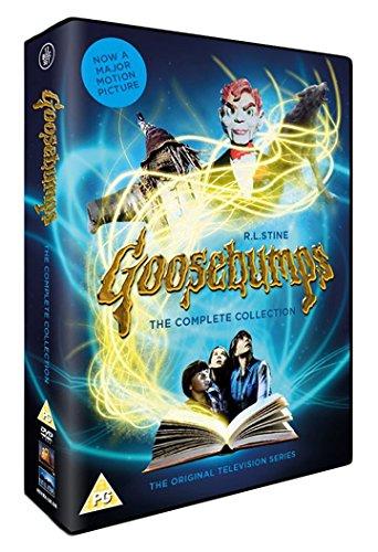 Goosebumps (Complete Collection) - 12-DVD Box Set ( Ultimate Goose bumps (68 Episodes) ) [ NON-USA FORMAT, PAL, Reg.2 Import - United Kingdom ] (Goosebumps Dvds Box Set)