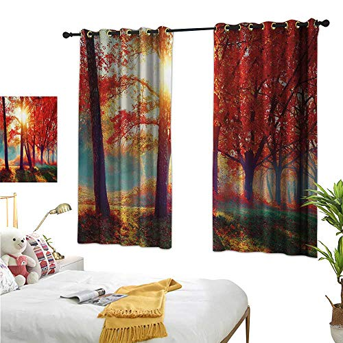 Customized Curtains,Tree,63