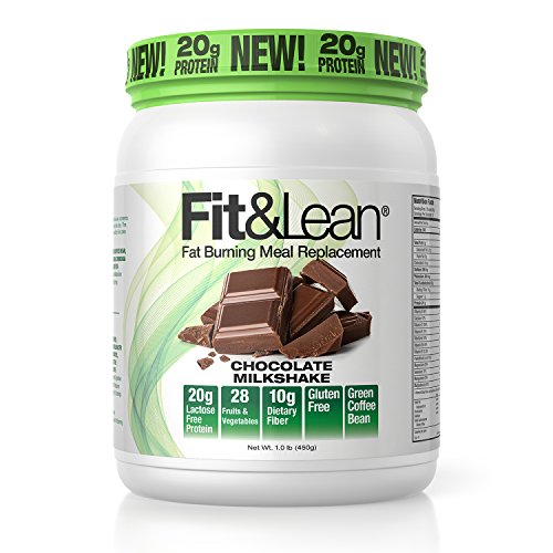 Fit & Lean Fat Burning Meal Replacement, Chocolate, 1 Pound