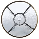"""TANGKULA 32"""" Patio Table Outdoor Round Wicker"""