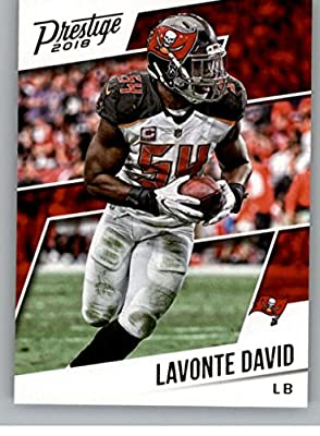 10185dbd5 2018 Prestige NFL  25 Lavonte David Tampa Bay Buccaneers Panini Football  Card