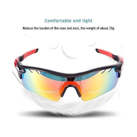 a26f4286f4 Polarized Ciclismo Gafas Uv400 Proteger Bicicleta Hombres Mujeres Gafas de Sol  Deporte Al Aire Libre Running