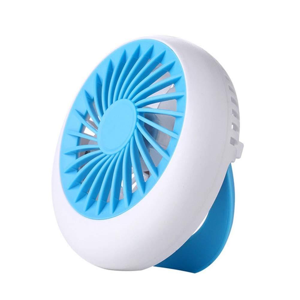 Mini Fan Portable Fan Rechargeable Fan USB Portable Desk Mini Fan for Office Camping, Home, Travel,A by Fan-wyx