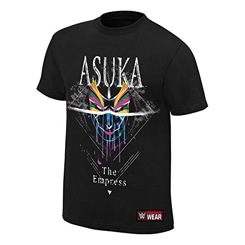 WWE Asuka The Empress T-Shirt Black Large by WWE Authentic Wear