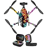 MightySkins Protective Vinyl Skin Decal for GoPro Karma Drone Headphones wrap Cover Sticker Skins Graffiti Wild Styles