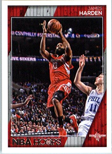 2016-17 Panini NBA Hoops #116 James Harden Houston Rockets Basketball Card (2016 17 Panini Nba Hoops Basketball Cards)