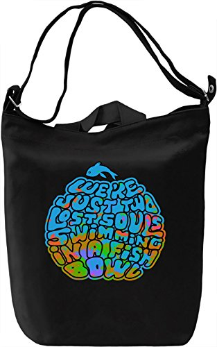 We Are Just Two Lost Souls Borsa Giornaliera Canvas Canvas Day Bag| 100% Premium Cotton Canvas| DTG Printing|