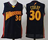 Mens Golden State Warriors Stephen Curry #30 Throwback Basketball Jersey