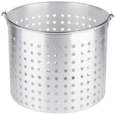32 Qt. Aluminum Stock Pot Steamer Basket