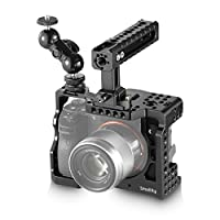 SmallRig A7RIII Cage Kit Rig for Sony A7RIII/A7III Camera with Top Handle, Ball Head - 2103
