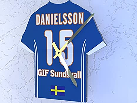 Sueco Allsvenskan fotbollsallsvenskan - cualquier nombre y número - Camiseta de fútbol reloj - cualquier nombre, cualquier número, cualquier equipo, ...