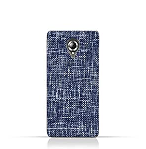 AMC Design Lenovo S820 TPU Silicone Case with Brushed Chambray Pattern