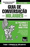 capa de Guia de Conversação Portuguès-Holandès E Dicionário Conciso 1500 Palavras