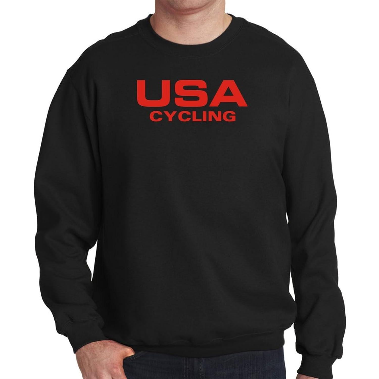 USA Cycling ATHLETIC AMERICA Mens Sweatshirt