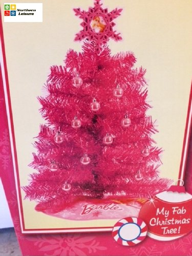 Barbie Christmas Tree Decorations.My 1st Barbie Christmas Tree Fab Artificial Pink W