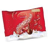 Lindt Lindor Christmas Mini Ball Assorted Chocolates Bag, 300g