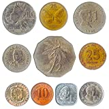 10 Different Coins from Philippines. Old