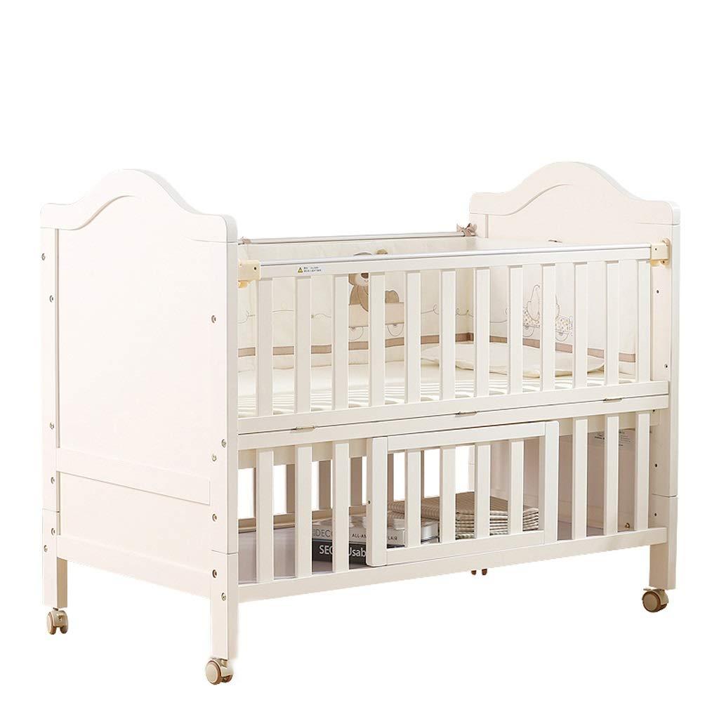 Babybett Babybett Massivholz Multifunktions Europäischen Stil Wiege Bett Spleißen Bett
