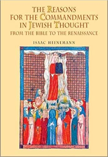 The Reasons for the Commandments in Jewish Thought: From the Bible to the Renaissance