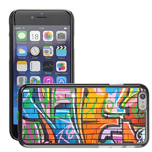 "Premio Sottile Slim Cassa Custodia Case Cover Shell // V00002252 Graffiti // Apple iPhone 6 6S 6G 4.7"""