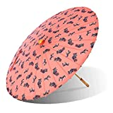 Lily-Lark Zebra UV protection sun parasol, rated UPF 50+