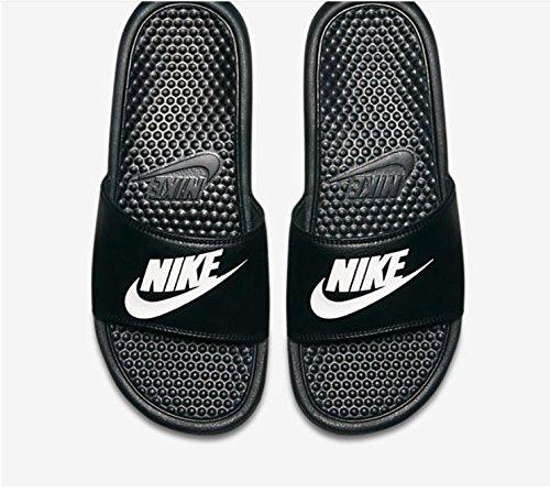 090 Noir Baskets noir Blanc Homme Jdi Nike Benassi xqHFw4I0H1