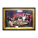 Neonetics Indoor Decoratives Dogs Playing Poker Neon/Led Picture