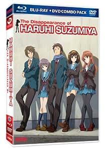 Melancholy of Haruhi Suzumiya Movie: The Disappearance of Haruhi Suzumiya [Blu-ray + DVD]