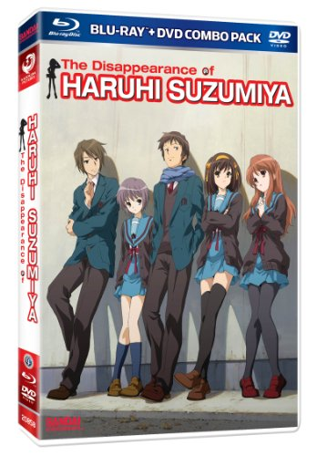 The Disappearance of Haruhi Suzumiya (Blu-ray/DVD Combo) by Bandai