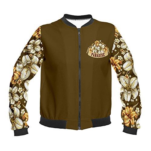 Funny Jackets Company© Impreso Chaqueta 3D Imprimir/Motivo/Diseño One Size Unisex Primavera Verano 2017 PARADISE VINTAGE 36080