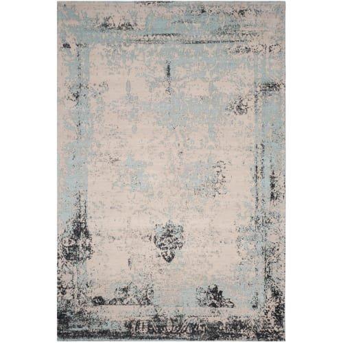 Safavieh Classic Vintage Collection CLV125C Blue Cotton Area Rug (8' x 11')
