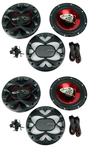 600 Watts Four Way Speakers - 4