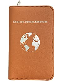 Phone Charging Passport Holder -Multiple Variations with Upgraded Power Bank- RFID Blocking - Travel Wallet Compatible with All Phones - Travel Accessories
