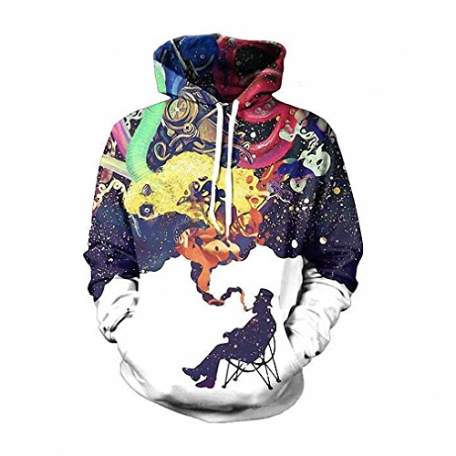 [3D Hoodie Cool Print Sweatshirt Game/Movie Super Hero Hooded Women/Men Sweatsuits Tops 5 XXXL] (Giant Bra Costume)