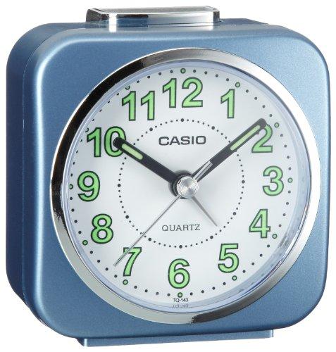 (Casio TQ-143-2EF Beeper Alarm Clock)