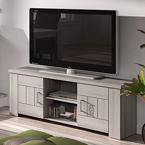 Kasalinea - Mueble para TV (145 cm), Color Madera Claro: Amazon.es ...