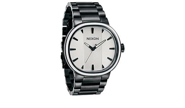 Amazon.com: Nixon Capital Watch - Mens All Black / White, One Size: Watches