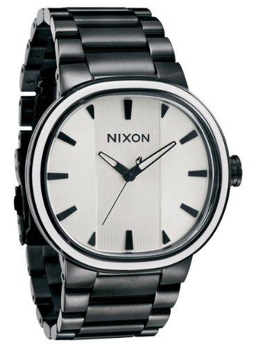 Nixon Capital Negro / Blanco Del Reloj A090-756