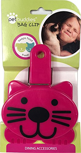 Pet Buddies PB1308 Cat Food - Treat Bag Clips
