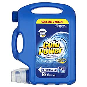 Cold Power Regular Complete Action, Liquid Laundry Detergent, Value Pack, 80 washloads
