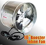 10 inch duct booster fan - Maximumstore 10
