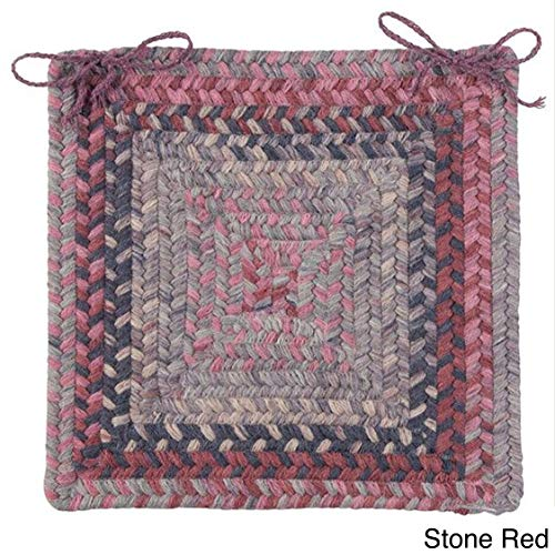 Spacedye Chair Pad (Set of 4) Stone Red Set-4 ()