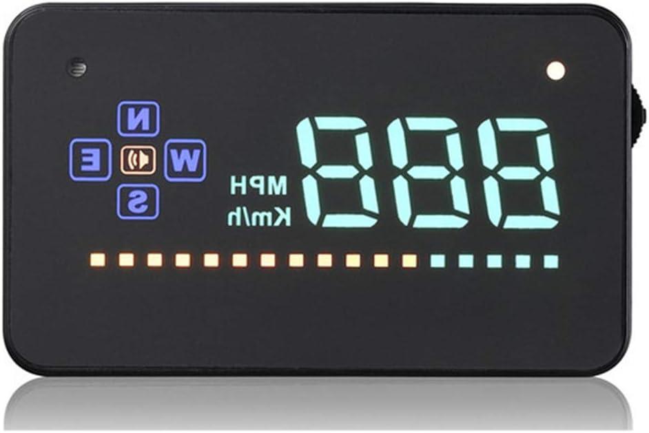 GOFORJUMP 3.5 Pantalla Auto Vehículo GPS HUD Car Head Up Display Velocímetros Advertencia de Exceso de Velocidad Windshiled Projector Alarm System