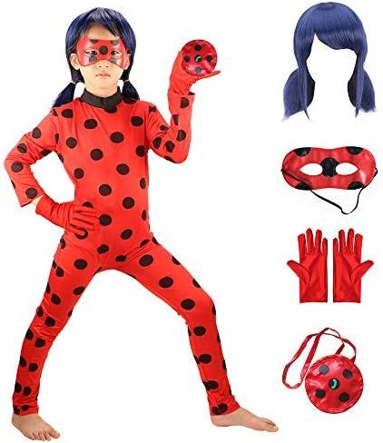 HuangWeida Ladybug Jumpsuit Halloween Birthday product image