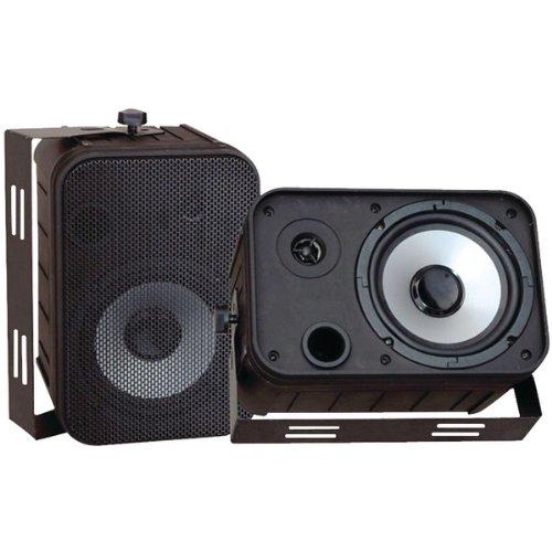 6.5'' Indoor/Outdoor Waterproof Speakers (Black)