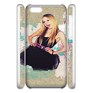 avril lavigne in black dress iPhone 6 4.7 Inch Cell Phone Case 3D White yyfD-381667