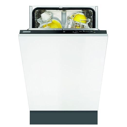 Zanussi ZDV12002FA Totalmente integrado 9cubiertos A lavavajilla ...