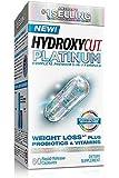 Hydroxycut Platinum Complete Premium Weight Loss Plus Probiotics & Vitamins, 60 Rapid-Release Capsules (Pack of 2)